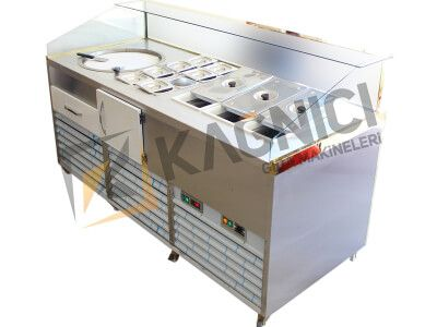 Ice Cream Rolls Making Machine